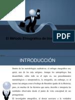 Metodo Etnografico