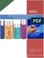 Modulo de Fundamento de Programación 2013-1