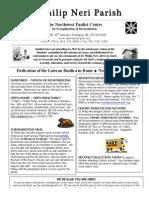 Nov 9 Bulletin