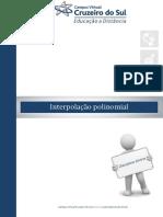 Unidade VI - Interpolação Polinomial