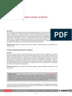 Acosta_El Futuro de La Educacion Superior en Mexico_RIES_v5_n13