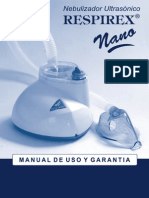Manual Para El Nebulizador