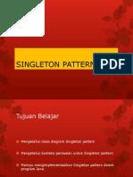 Singleton Desain Pattern