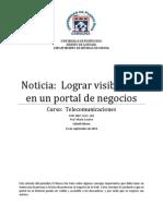 Noticia Lograr Visibilidad en Un Portal de Negocios