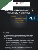 DISEÑO SISMICO DE EDIFICIOS APORTICADOS