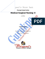 Medical Surgical Nursing- II