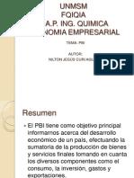 Economia empresarial PBI