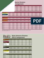 TDC Drop Schedule