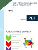 Presentación - Internacionalización de Empresa Familiar