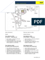 IKEA Alamsutera Store Map and Directions