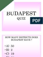 Budapest Quiz