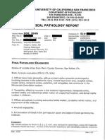Robin Williams Redacted Neuropathology Protocol