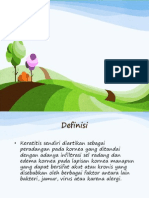 Keratitis Refrart