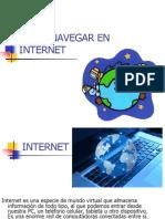 COMO NAVEGAR EN INTERNET.ppt