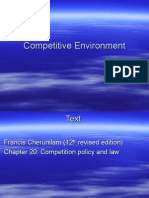10. Competitive Environment