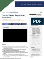 Curso Excel Avanzado BS GRUPO