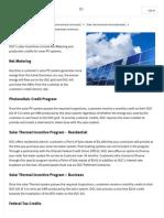 Orlando Utilities Solar Incentives