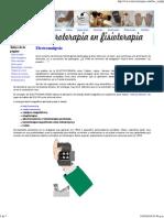 Electro Analgesia