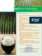 7th November 2014 Daily Global Rice Enewsletter by Riceplus Magazine