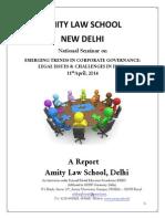 National Seminar a Report