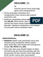 Filsej - Filsafat Idealisme