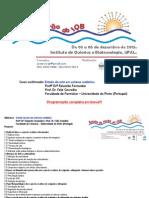 Programação Escola de Verão IQB