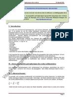 Vitesse Et Proprietes Petrophysiques Proprietes Mecaniques Des Roches
