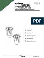 Actuadores Neumáticos Series PN 3000 y PN 4000