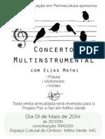 Concerto Milho Verde