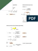 Vias II Cálculos Calculo del coeficiente de daño y metodo unam