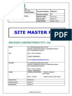 Draft Site Master File