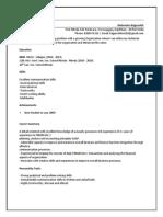 Mahendra Rajpurohit Resume