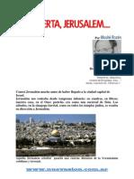 Despierta Jerusalén