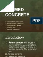 Foamed Conc