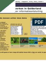 De leefomgeving in Gelderland, een model voor informatieontsluiting