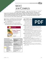 GNLD's Garlic Allium Complex - Fast Facts
