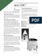 GNLD's LDC detergent - Fast Facts