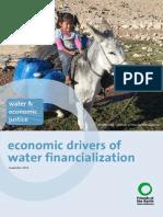 Economic Drivers of Water Financialization