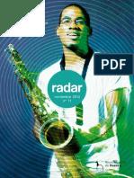 Actualidad cultural en la ciudad de Huesca en el mes de noviembre, detallada en la publicación periódica _Radar_