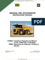 Manual Estudiante Camiones Mineros 777d 775e 773e 771d 769d Cat