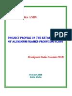 Aluminum Frames Project