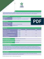 Tack Coat CSS 1h Product Data Sheet