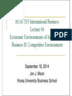 04 Economic Environments of IB II