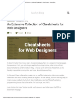 An Extensive Collection of Cheatsheets for Web Designers - Market Blog