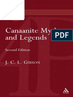 John C. L. Gibson - Canaanite Myths and Legends (2004)