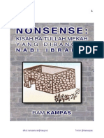 NONSENSE Baitullah Mekah Dibangun Ibrahim