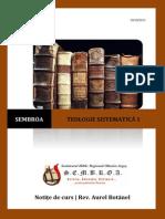 Teologie Sistematica - Curs