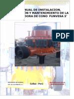 Manual de Chancadora Funvesa Conica 3' rev 1.pdf