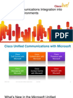 Unified Communications Integration Into Microsoft Environments