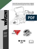 Manual de instrucciones pistola de pintura marca Wagner